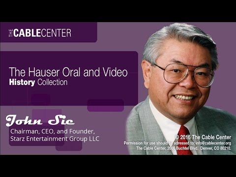 John Sie: Oral and Video History Collection Interview