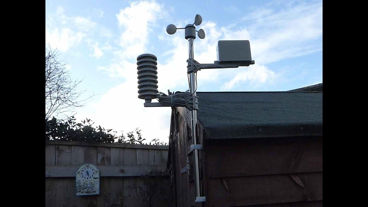 Review And Setup Of The Maplin Weather Station Youtube