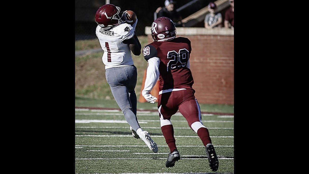 online retailer 744ba c0a27 Denver Broncos: Check out these highlights of WR Romell Guerrier