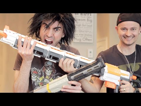 Thumbnail: NEW NERF vs OLD NERF: Unboxing WAR!