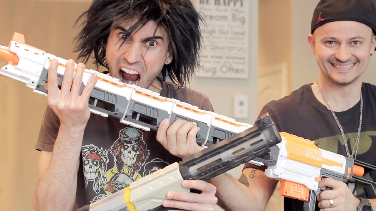 New Nerf Vs Old Nerf Unboxing War
