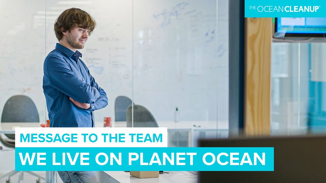 Boyan shares some Perspective on The Ocean Cleanup Mission