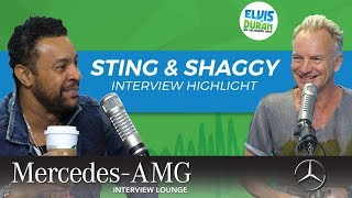Sting and Shaggy Reveal Each Other
