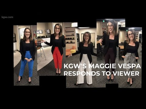 Kristina Kage - Portland's KGW's Reporter responds to viewer: Dress like a Normal Woman