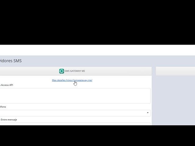 Mikrowisp V6 - Configurar SMS Gateway sms gateway