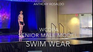 Anthony Rosaldo - WCOPA SENIOR MALE MODEL SEMI FINALS SWIM WEAR