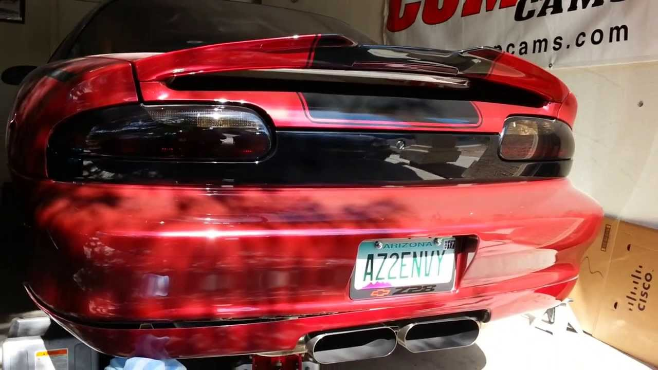 6le Mcnord Spoiler For 4th Gen Camaros Youtube