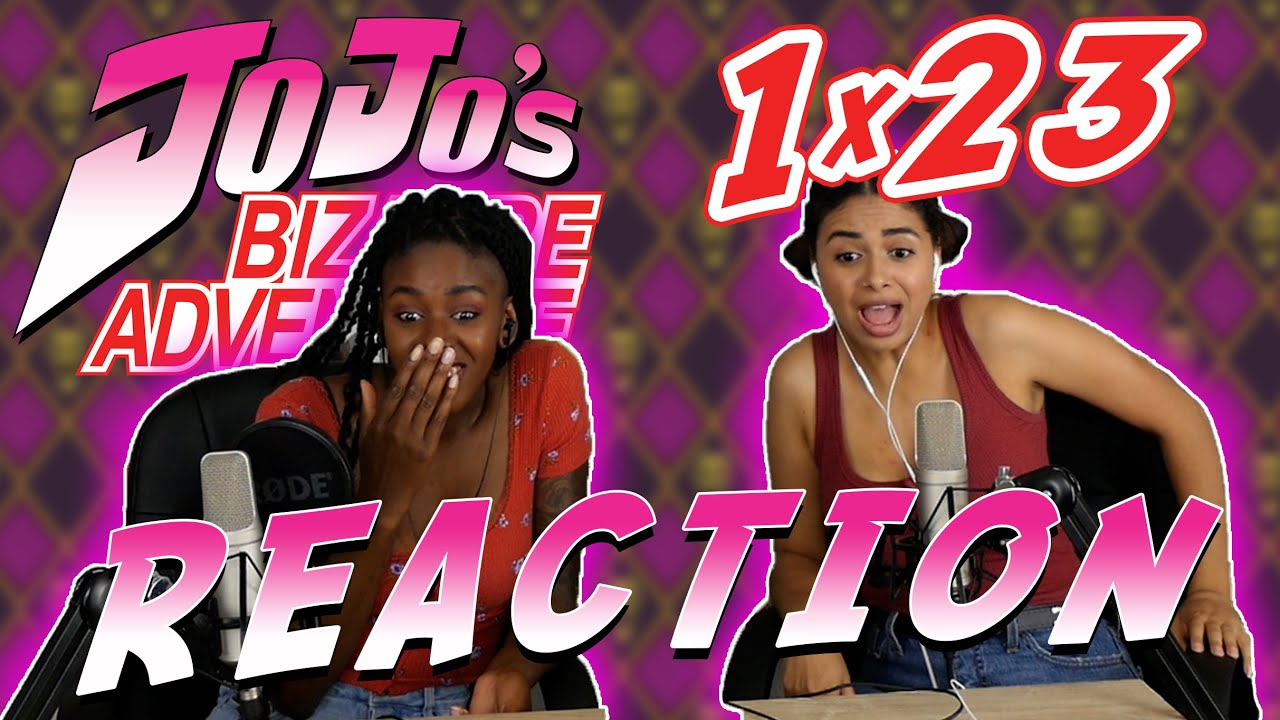 Download Jojo's Bizarre Adventure 1x23 REACTION!!