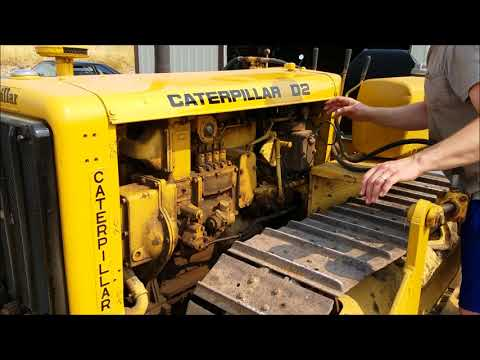 D2 Caterpillar 5J 1942, Startup