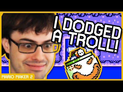 Cosmic Brain Troll Levels in Super Mario Maker 2