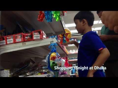 Shopping tonight at Dhaka