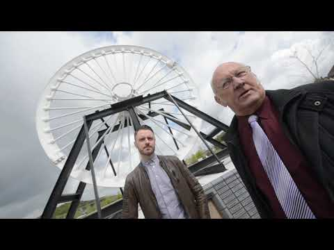 Historic Mining Wheel Returned To Old Colliery