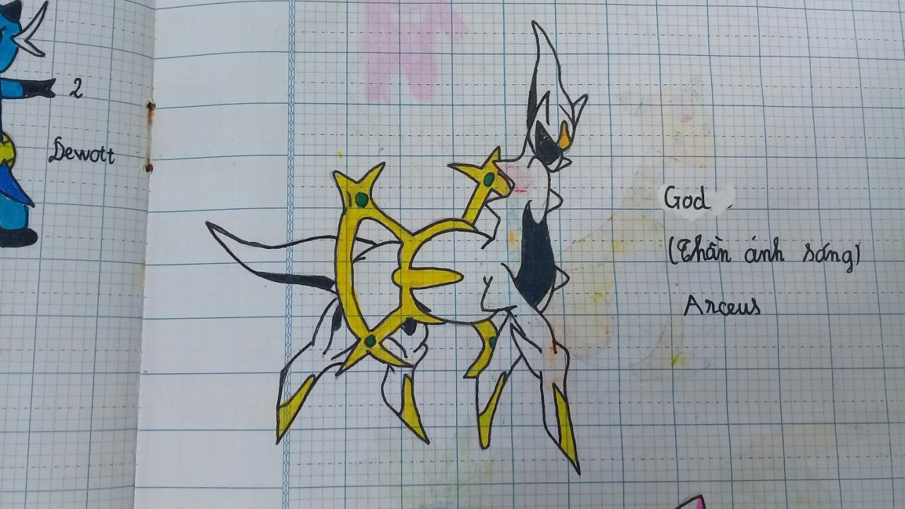 [NamArt] Hình vẽ Pokemon   Part 1