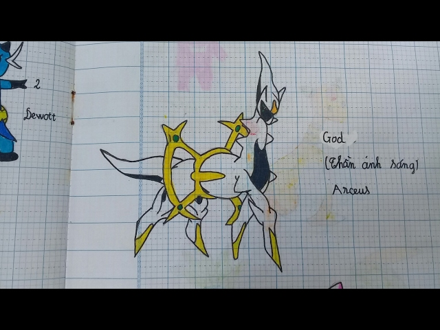 [NamArt] Hình vẽ Pokemon | Part 1