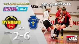 KaDy - FC Sport J 18.01.2020 MAALIKOOSTE!