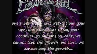 Bad Blood (B-Side) by escape the fate, with lyrics x)