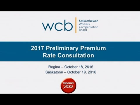 2017 WCB Rate Setting Information Session