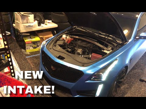 New Cold Air Intake for my 2018 CTS-V