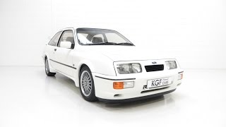 An Ex-modified Concours Winning Ford Sierra RS Cosworth with 28,066 Miles - £37,995
