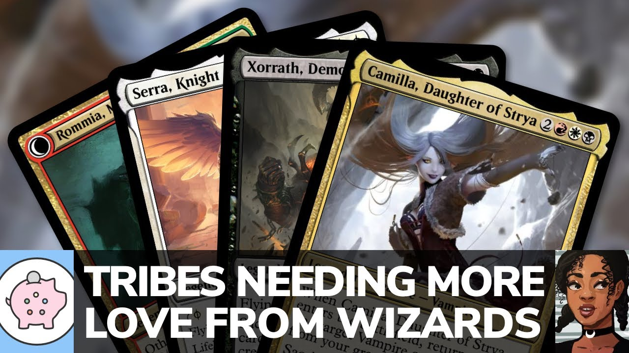 Tribes that Need More Love from Wizards | EDH | Tribal Commander | Magic the Gathering | Commander