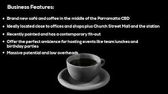 Cafe And Coffee Shop Business For Sale in  Parramatta Sydney NSW