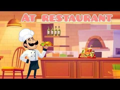 How to order food at the restaurant | English lesson