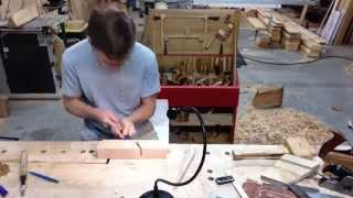 Making A Traditional Wooden Moulding / Molding Plane Time L