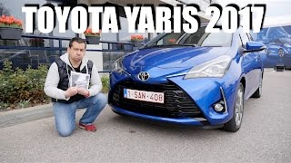 Toyota Yaris 2017 (ENG) - Test Drive and Review
