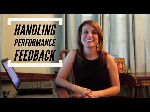 Handling Performance Feedback