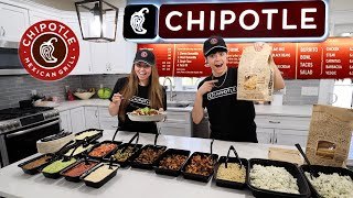 WE OPENED A CHIPOTLE IN OUR HOUSE!!