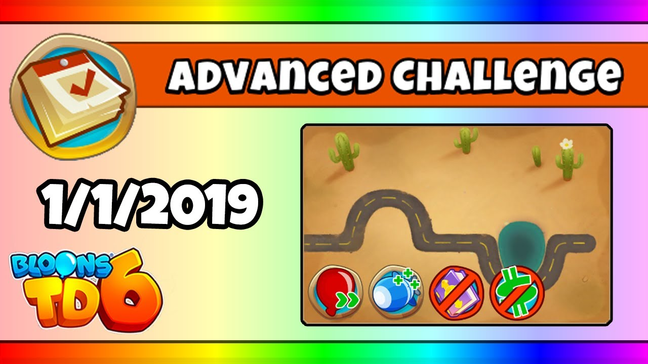 BTD6 Advanced Daily Challenge (NEW YEARS DAY!) - January 1, 2019 by Fresh  Jawn