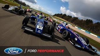 Behind the British F4 VR Experience| Ford Performance