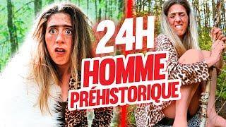 VIVRE COMME UN HOMME PRÉHISTORIQUE PENDANT 24H | DENYZEE