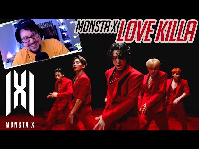 Mikey Reacts to MONSTA X 몬스타엑스 'Love Killa' MV