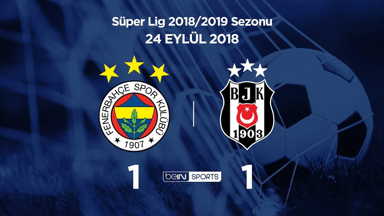 24.09.2018 | Fenerbahçe - Beşiktaş | 1-1