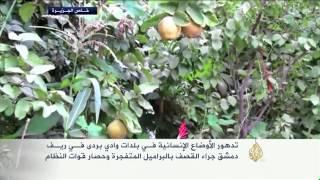 تدهور الأوضاع الإنسانية في وادي بردى بريف دمشق