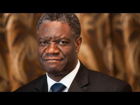 DRC's Doctor Mukwege wins Nobel Peace Prize for his work treating rape victims