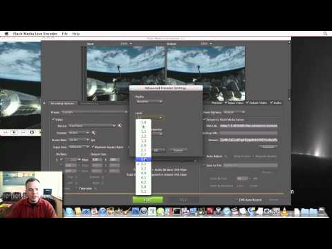 Flash Media Live Encoder and CamTwist