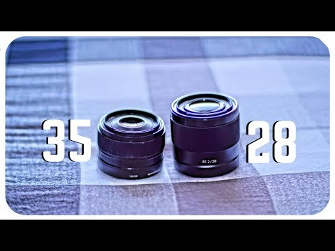 Sony 35mm F1.8 vs 28mm F2 Lens Comparison