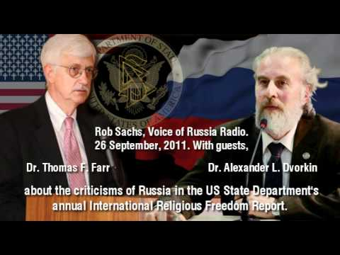 Struggle for Religion  [includes scientology cult] Voice of Russia radio: 26 Sept 2011