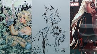 Haul 22 (comics and original art) Rick and Morty, Skottie Young, Siya Oum, and Campbell