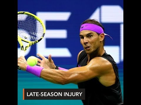Nadal's late-season injury jinx strikes again