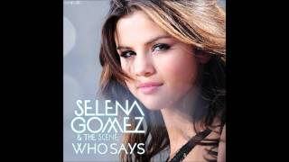 Selena Gomez Who Says Download Link For MP3
