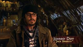 The Actors in the Maelstrom Pirates of the Caribbean 3 special features