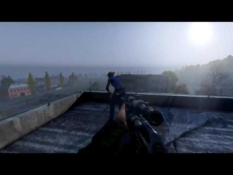 DayZ Standalone:  ROOFTOP RUSSIAN ROULETTE