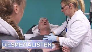 Vater bricht in Klinik zusammen: Hat er einen Herzinfarkt? | Birgit Maas | Die Spezialisten | SAT.1