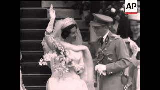 Belgian Royal Wedding - 1960