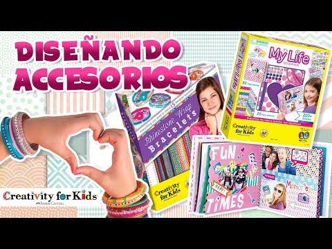 Decora tu propia Pulsera y diviértete con el Scrapbook de Creativity for Kids