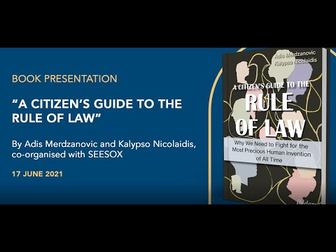 A Citizen's Guide to the Rule of Law - Book Roundtable with