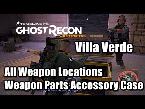 Ghost Recon Wilands All Weapon Locations Weapon Parts Accessory Case Medals  in Villa Verde
